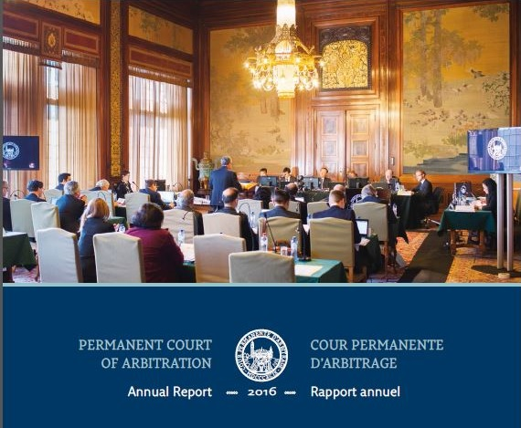 Permanent Court of Arbitration publishes 2016 Annual Report | PCA-CPA